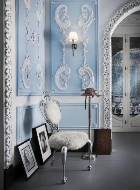 The south kensington london flat of lebanese interior for Studio interior design london