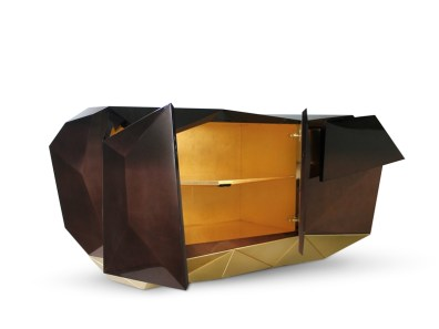DIAMOND CHOCOLATE Sideboard-Credenza-Buffet by Pedro Sousa from BOCA DO LOBO (Limited Edition Collection, 2013 re-edition) - Copyright: ©BOCA DO LOBO