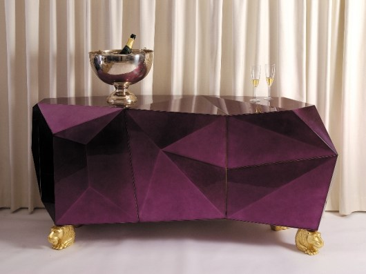 DIAMOND Sideboard-Credenza-Buffet by Pedro Sousa from BOCA DO LOBO (Limited Edition Collection, 2007 - photo by Pedro Saraiva) - Copyright: ©Boca do Lobo, Pedro Sousa, Pedro Saraiva