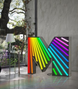 GRAPHIC LAMPS Collection of Floor-Wall-Table Lamps by Nuno Corte-Real (Delightfull Design Studio) from DELIGHTFULL (2013) - Copyright: © DELIGHTFULL, Nuno Corte-Real