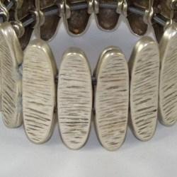 Lunamor – Armreif Oval grob