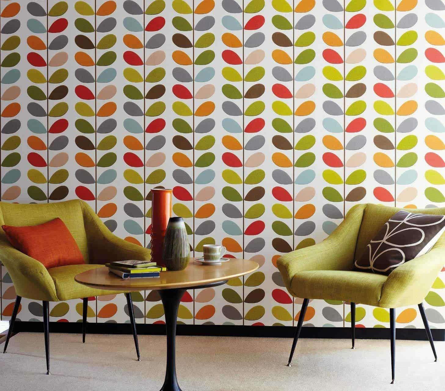 È lo sfondo perfetto per le pareti di ogni stanza. Arredare Casa Con La Carta Da Parati Anni 70 Design Miss