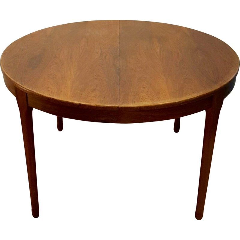 meuble tv paris extensible round table in rosewood 1960s