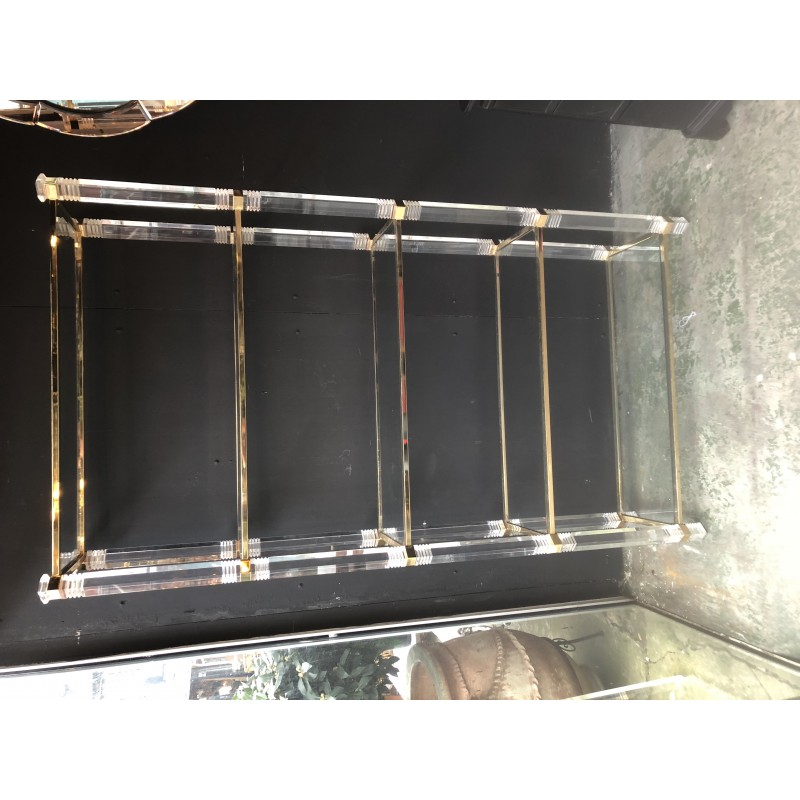 vintage shelf with 5 levels in plexi 1960s
