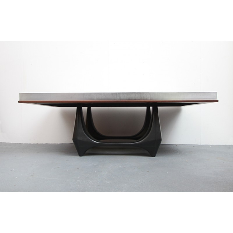 vintage handmade coffee table by heinz lilienthal 1960s