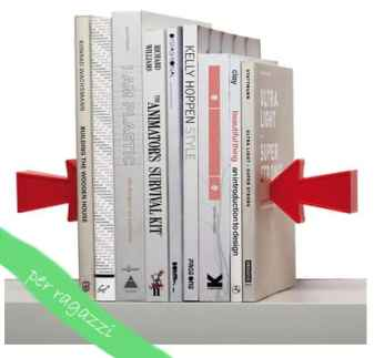 Pa Design, reggilibri magnetico Arrow