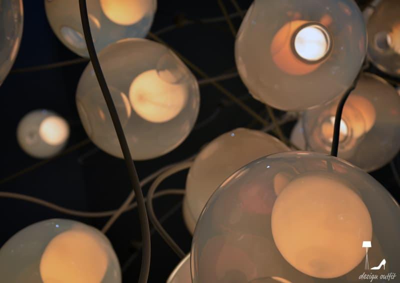 Euroluce in vetro e metallo