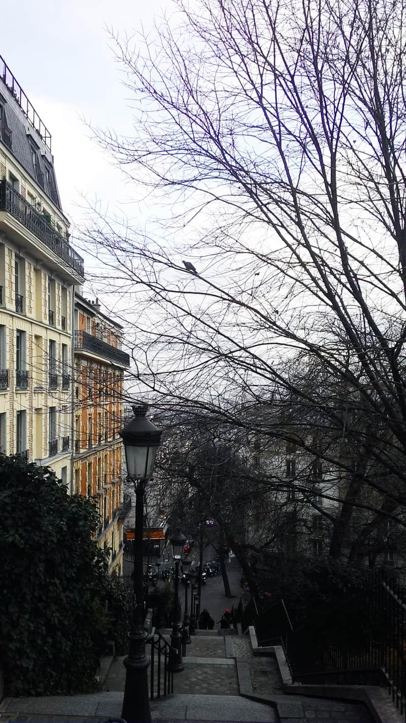 se avessi casa a Montmartre