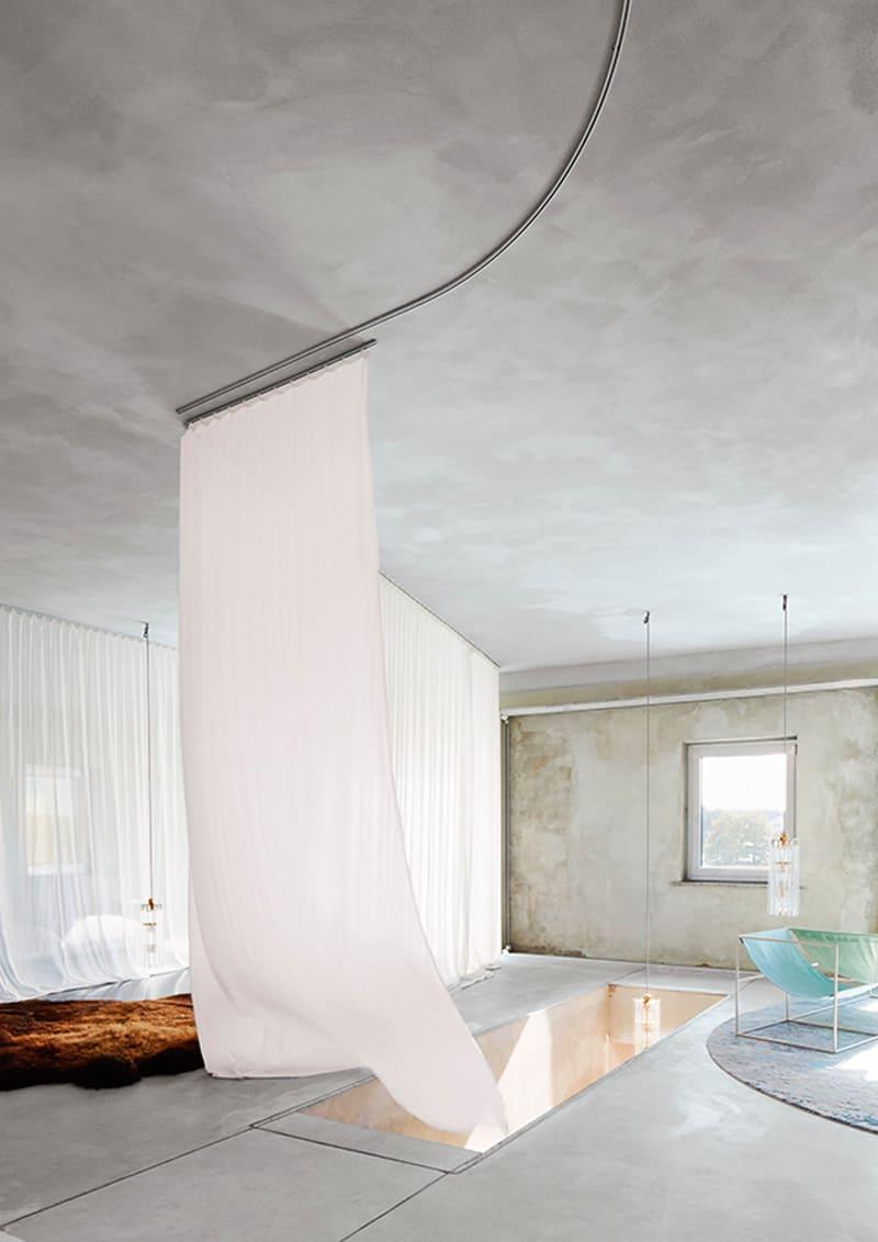 Pareti Effetto Cemento In Soggiorno Design Outfit
