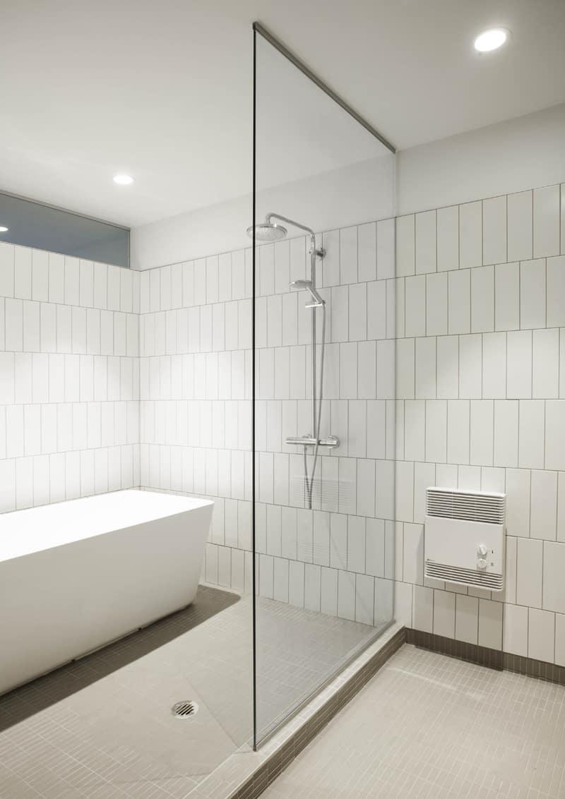 il bagno, vano doccia