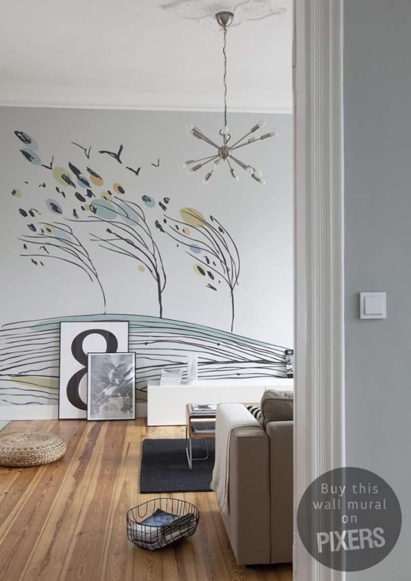 decorare casa | carta da parati PIXERS Wind