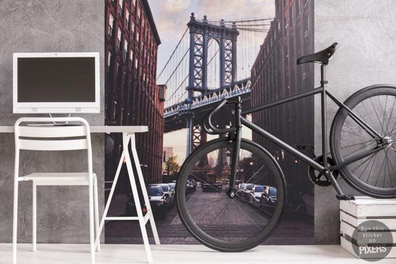 decorare casa | adesivo murale PIXERS Manhattan