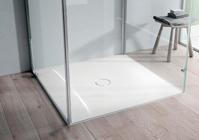 progetto bagno | il piatto doccia in Aquatek Onda di Disenia