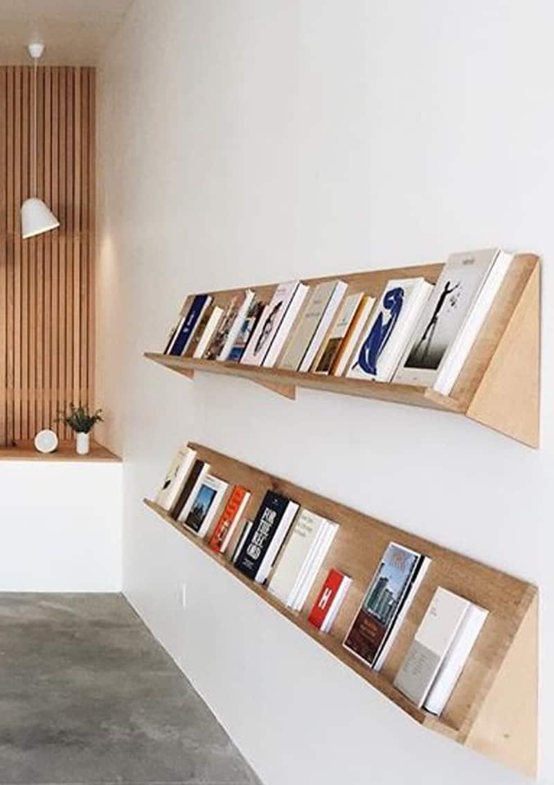 libreria frontale: come riordinare i libri in un modo alternativo