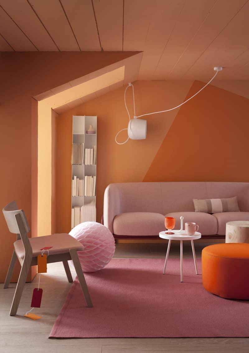 interni arancio: come curare gli abbinamenti di colore