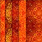 Flower Vintage Tileable Textures