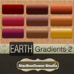 Earth Gradients 1 by: StarSunflower Studio