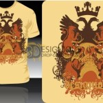 T-Shirt Vector 4 by: Designious