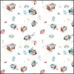 Free Floral Pattern for Photoshop & Illustrator