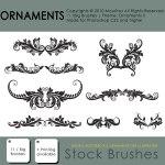 Brush Pack – Ornaments II