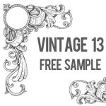 Free Vintage Vector Sample