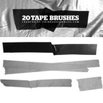 20 Tape Brushes