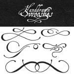 Free Calligraphy Ornaments Vectors