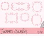 Cute Doodle Frames Brushes