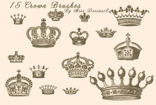 crown_brushes_by_miss_deviante-d4o3ub3