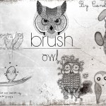 Cute Owl Brushes Set for Photoshop