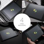 4 PSD Ipad Mockups
