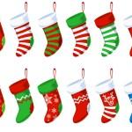 Free PSD Christmas Stocking