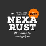 Free Font Nexa Rust by FontFabric