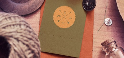 Vintage & Rustic Label Tags - Photoshop PSD Mockups