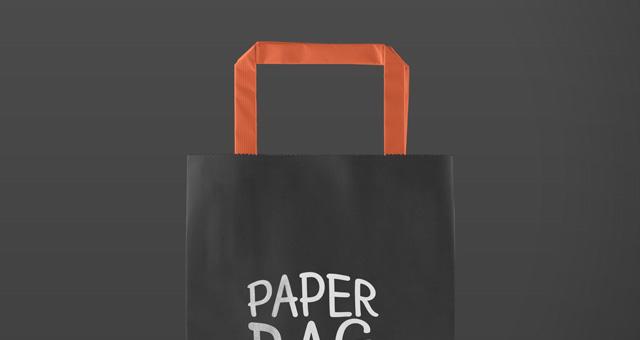 Paper Back Mockup for Graphic Design