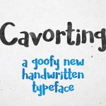 Cavorting Handwritten Font