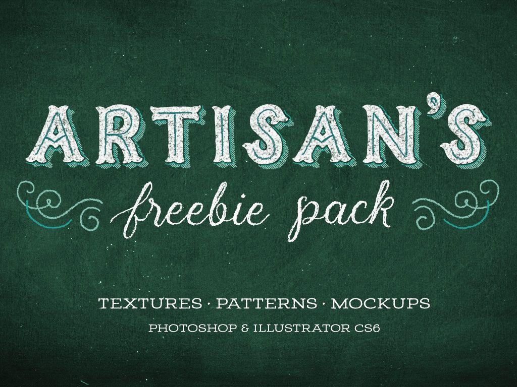 Chalk Board Mockups & Textures Pack