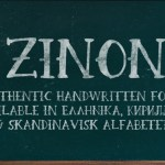 Zinon Quirky Hand Drawn Serif Font
