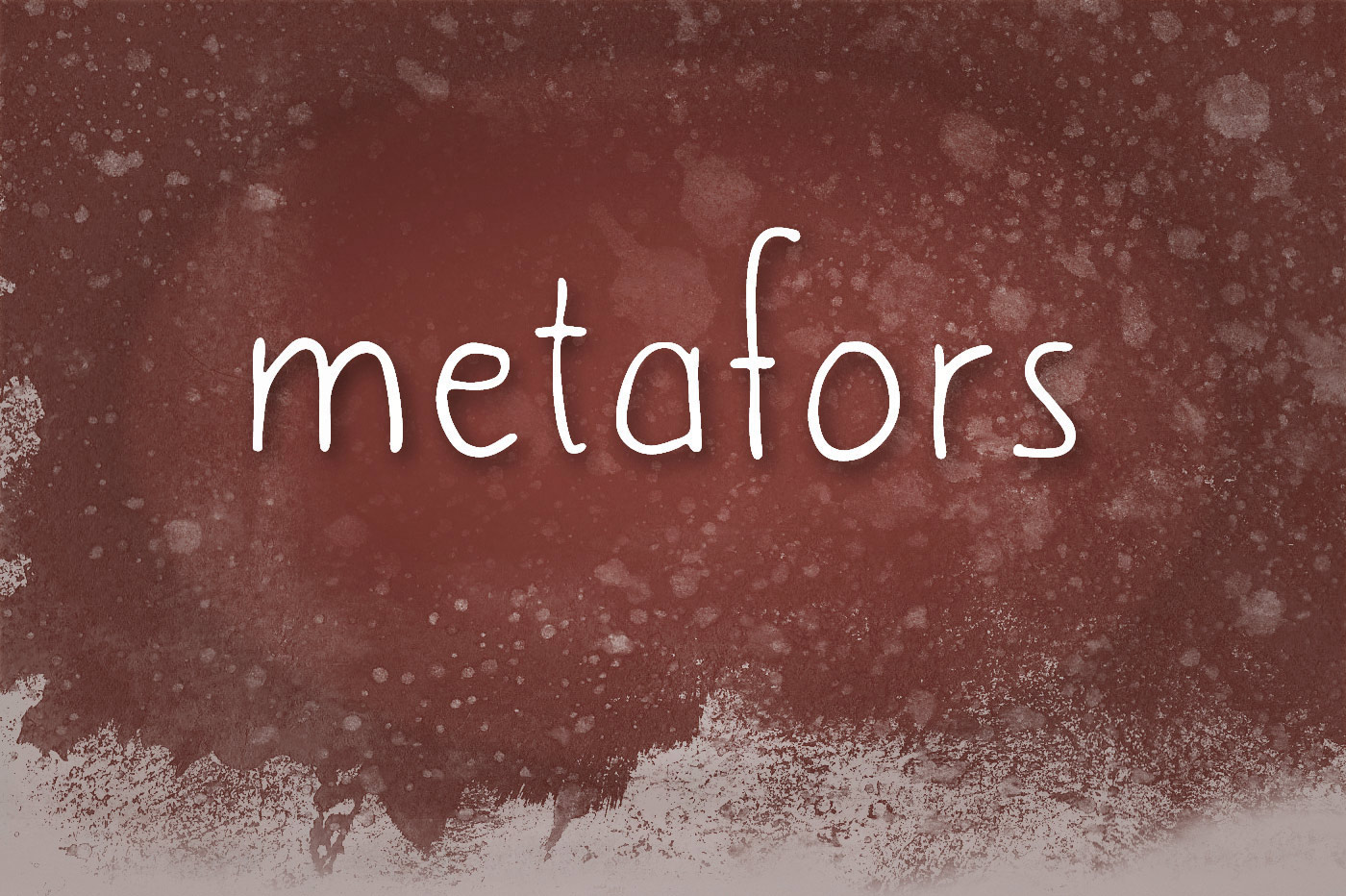Cute Hand Writing Font - Metafors