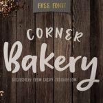 Free Script Font – Corner Bakery