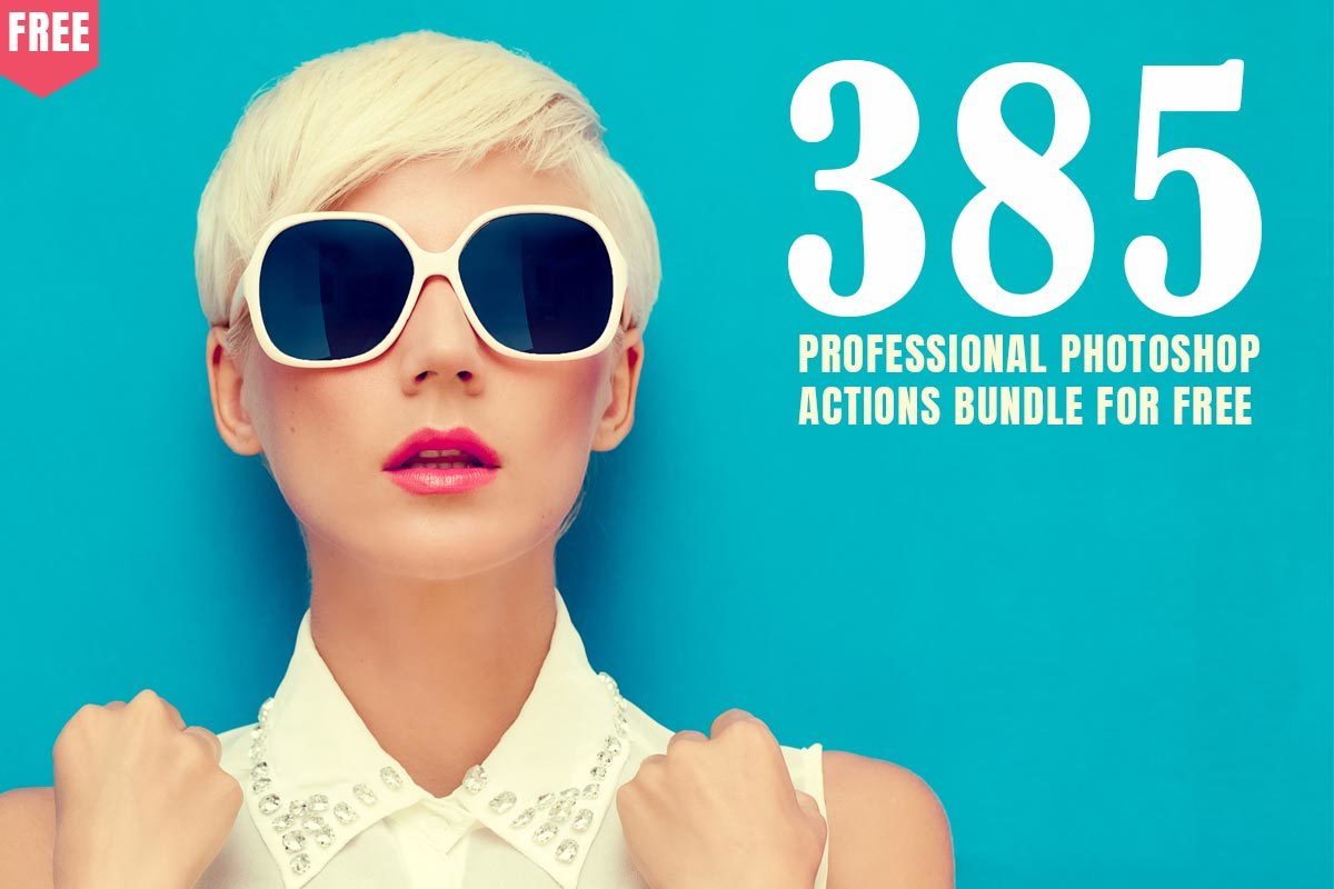 385 Free Professional Photoshop Actions Bundle | Design Share