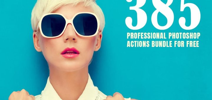 385 Free Professional Photoshop Actions Bundle