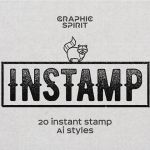 Instant Stamp Styles for Adobe Illustrator