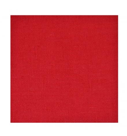 rideau lin rouge thevenon