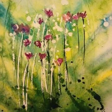 Mu Um spring flowers