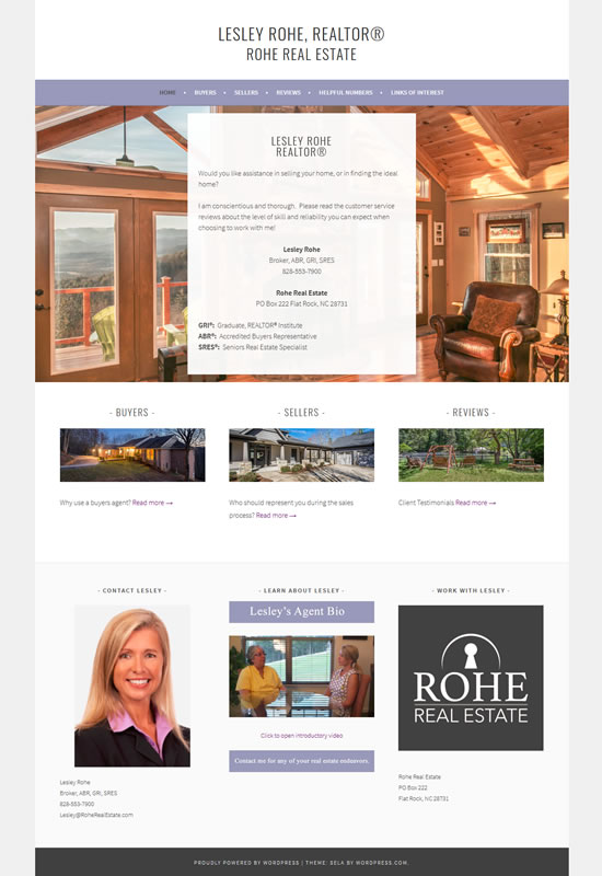 Lesley Rohe Realtor® www.realtorrohe.com