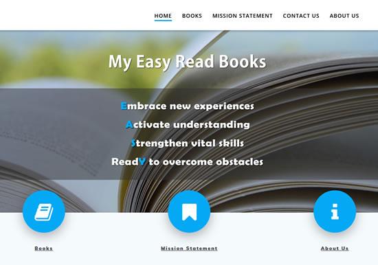 My Easy Read Books www.myeasyreadbooks.com