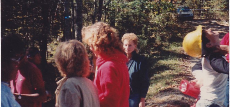 Caving with a Group, 1987