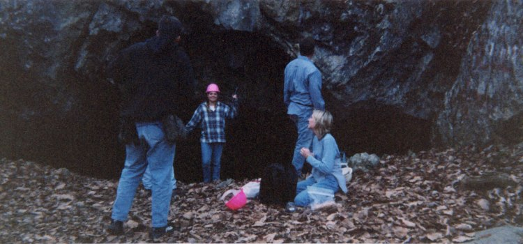 Trip to a Private Cave near Hot Springs, Tennessee