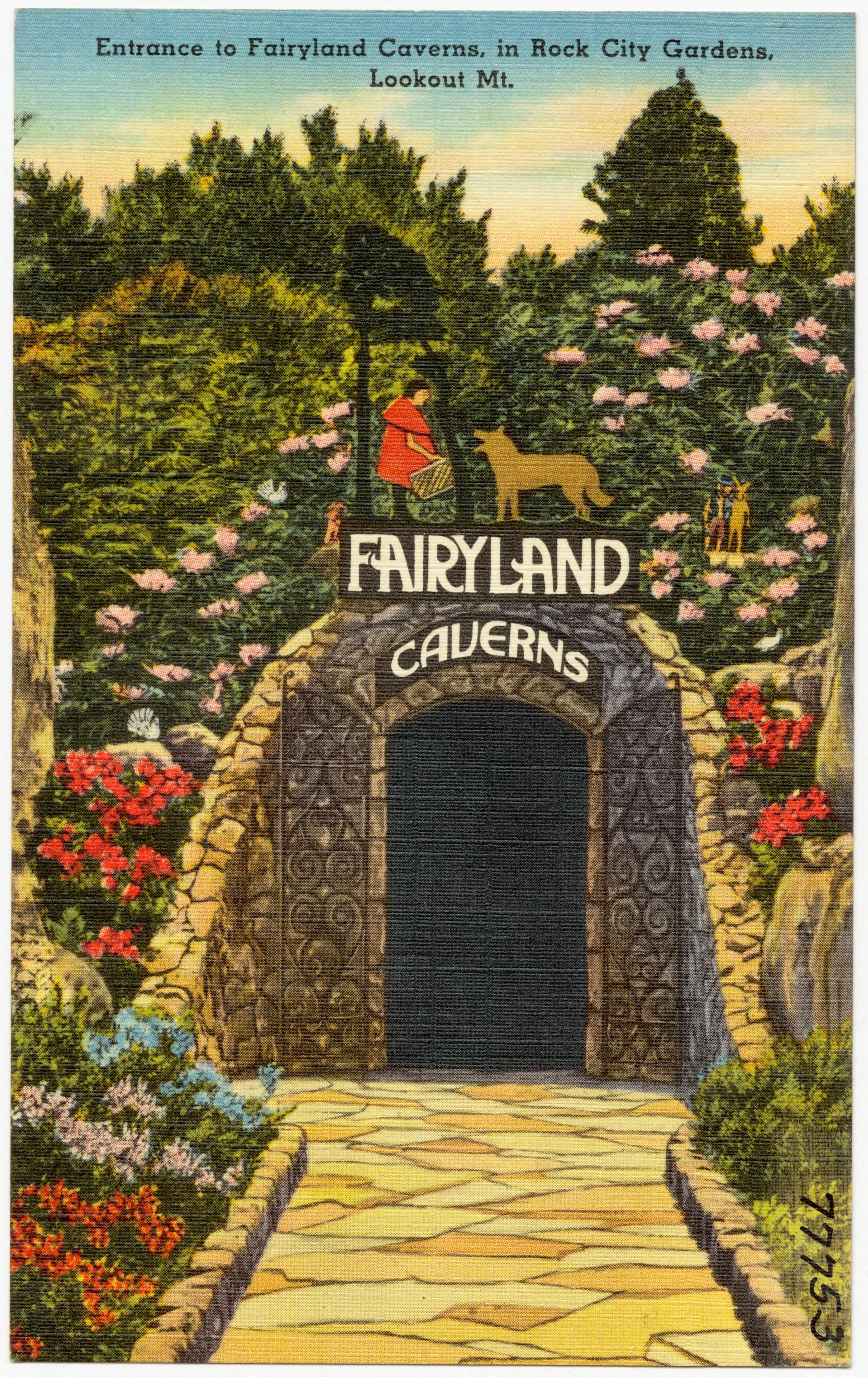Fairyland Caverns in Rock City Gardens – The Underground World of Caves